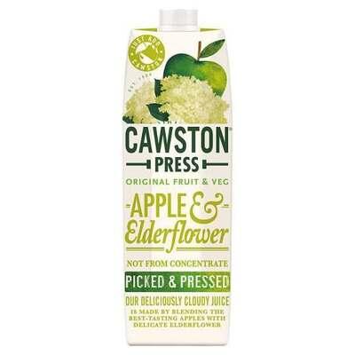Cawston Press Apple & Elderflower Juice 1 Litre