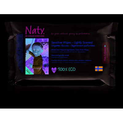 Naty by Nature Lightly Scented Sensitive Baby Wipes