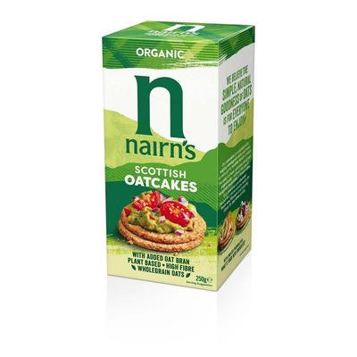 Nairn's Organic Oatcakes 250g