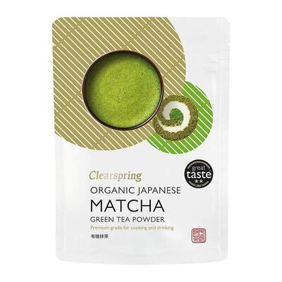 Clearspring Japanese Organic Matcha Green Tea Powder 40g