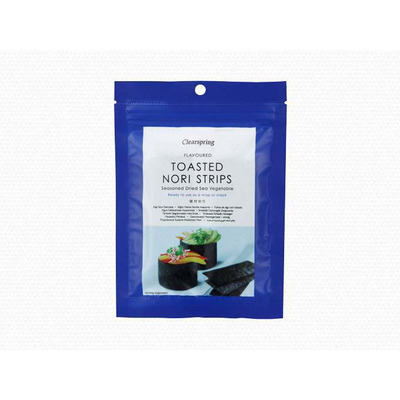 Clearspring Japanese Flavoured Toasted Nori Strips 13.5g