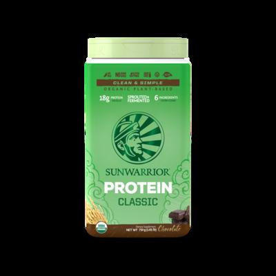 Sunwarrior Classic Protein Raw Vegan Chocolate Powder 750g