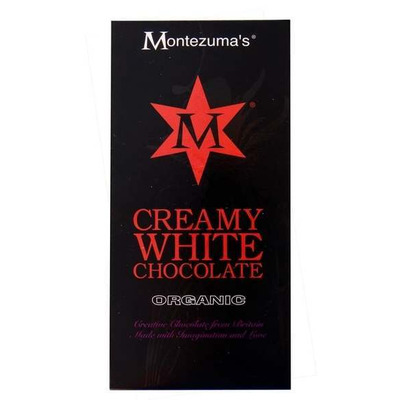 Montezuma's Organic Creamy White Chocolate Bar 100g