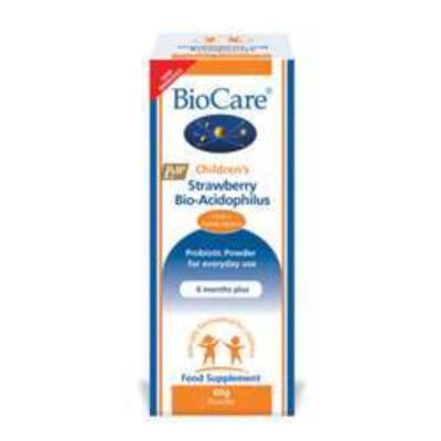 BioCare Children's Strawberry BioAcidophilus (Probiotic) 60g