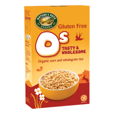 Nature's Path Organic Gluten Free O's Wholesome Cereal 300g