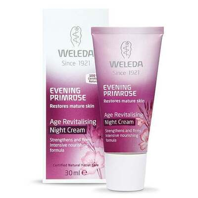 Weleda Evening Primrose Oil Age Revitalising Night Cream 30ml
