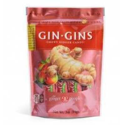 The Ginger People Gin Gins Spicy Apple Ginger Candy 84g