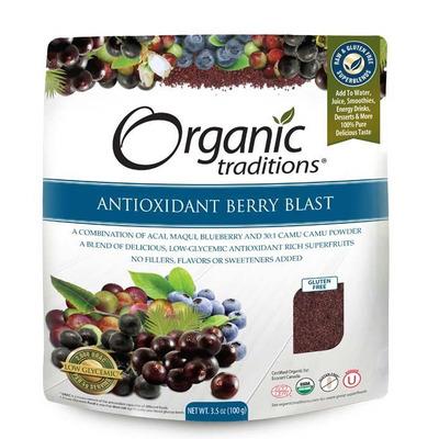 Organic Traditions Gluten Free Antioxidant Berry Blast 100g