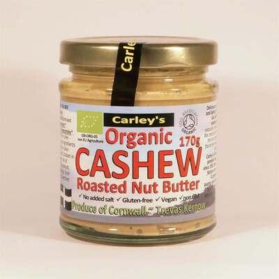 Carley's Organic Cashew Nut Butter 170g