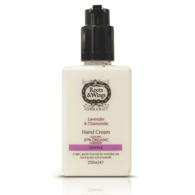 Roots & Wings Gentle Lavender & Chamomile Hand Cream 250ml