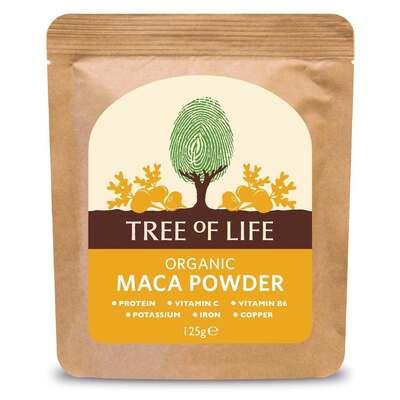 Tree of Life Organic Maca Powder 125g