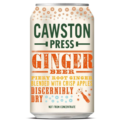 Cawston Press Sparkling Ginger Beer 330ml