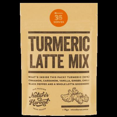 Natures Harvest Turmeric Latte Mix 70g