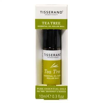 Tisserand Aromatherapy Tea Tree Essential Oil Roller Ball 10ml