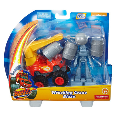 Fisher Price Blaze And The Monster Machines Wrecking Crane Blaze