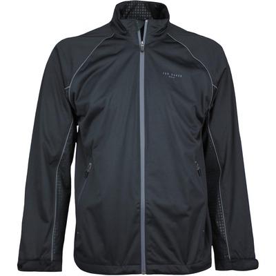 Ted Baker Golf Jacket Swanson Waterproof Black SS17