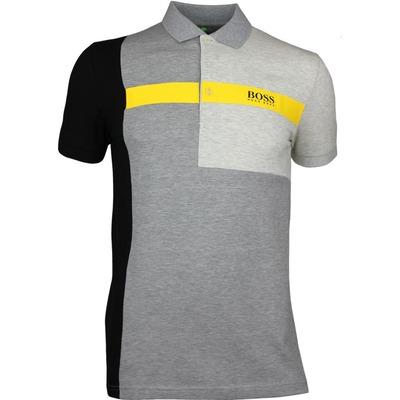 Hugo Boss Golf Shirt Paddy Pro 1 Grey Melange PF17