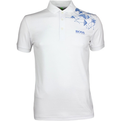 Hugo Boss Golf Shirt Paule Pro 1 Training White PF17