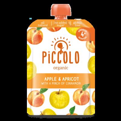 Piccolo Apple & Apricot with Cinnamon 100g
