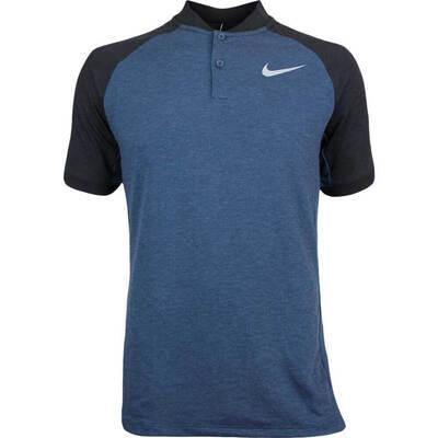 Nike Golf Shirt NK Dry Raglan Blade Armory Navy AW17