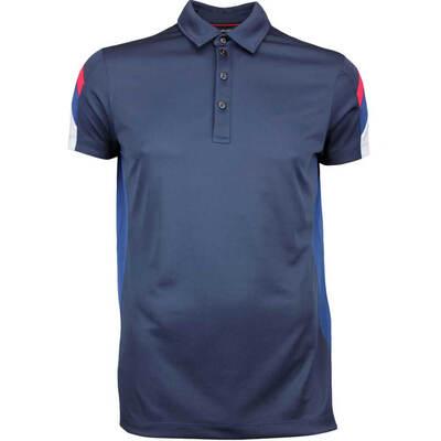 Galvin Green Golf Shirt MERLIN Ventil8 Plus Navy AW17