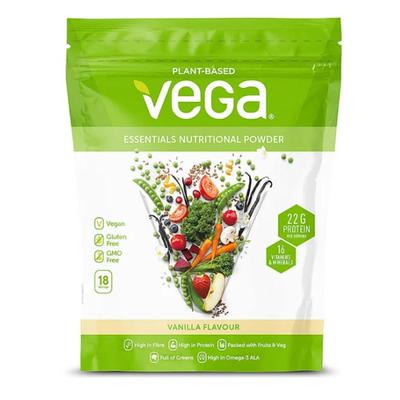 Vega Essentials Vanilla Nutritional Powder 619g