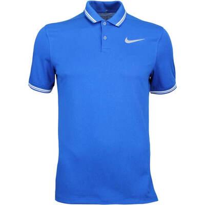 Nike Golf Shirt NK Dry Tipped Blue Jay AW17