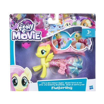 My Little Pony The Movie Fluttershy Land And Sea Fashion Styles Figure
