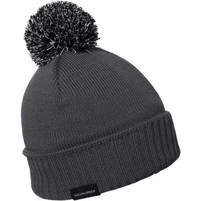 Galvin Green Golf Hat BOO Windstopper Beanie Iron Grey AW17