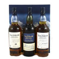 The Talisker Collection - 10, DE, 57 North 3x20cl