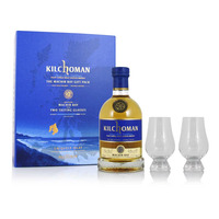 Kilchoman Machir Bay Gift Set with 2 Glasses