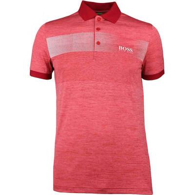Hugo Boss Golf Shirt Paddy Pro 2 Barbados Cherry SS18
