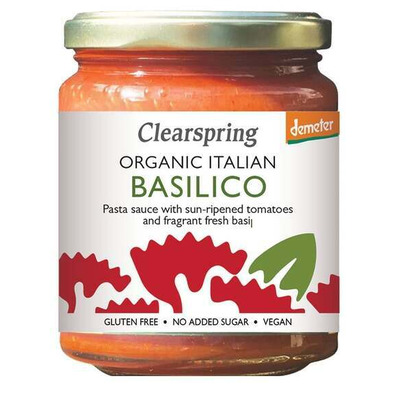 Clearspring Demeter Organic Italian Basilico Pasta Sauce 300g