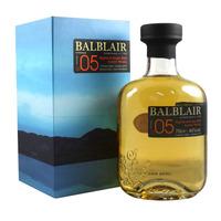 Balblair 2005 Vintage - bottled 2018