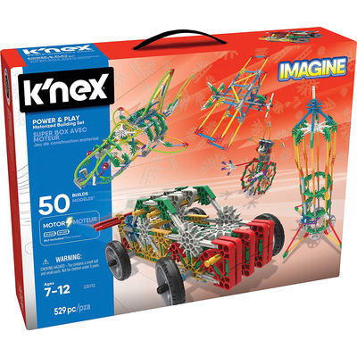 K'nex Power And Play Motorised Building Set 529 Pieces