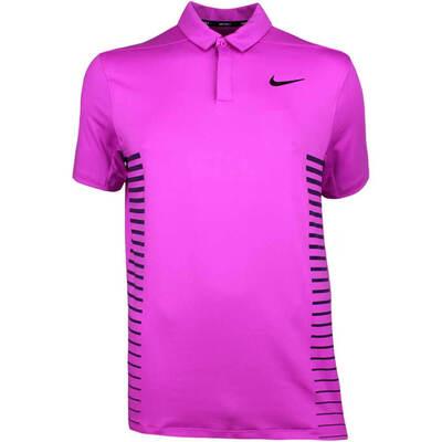 Nike Golf Shirt NK Dry Print Hyper Magenta SS18