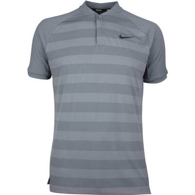 Nike Golf Shirt Zonal Cooling Momentum Blade Dark Grey SS18