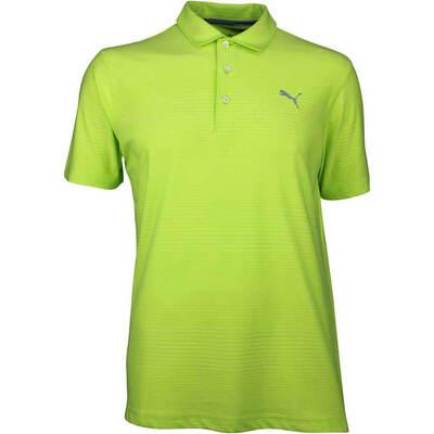Puma Golf Shirt Aston Acid Lime SS18