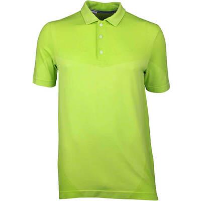 Puma Golf Shirt Evoknit Seamless Acid Lime SS18