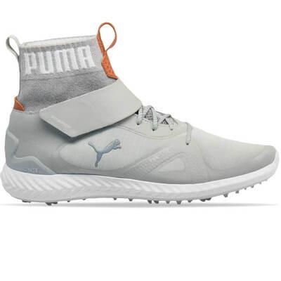 Puma Golf Shoes Ignite PWRADAPT Hi Top Grey Violet 2018
