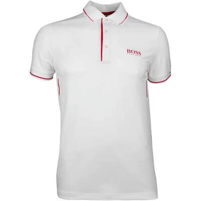 Hugo Boss Golf Shirt Paule MK 1 Training White SP18