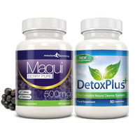 Image of Maqui Berry & Detox Cleanse Combo Pack - 1 Month Supply