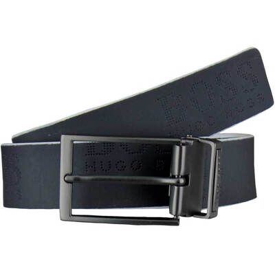 Hugo Boss Golf Belt Tomillo Reversible Dark Blue White 2018