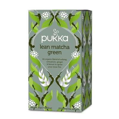 Pukka Lean Matcha Green Tea 20 Bags