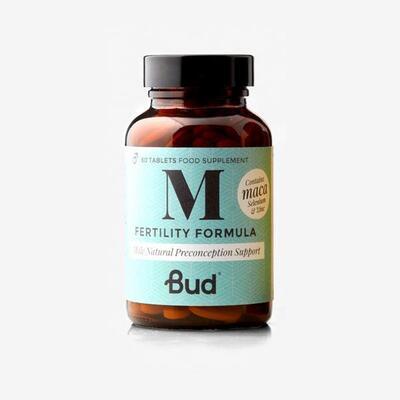 Bud Nutrition Male Fertility Formula 60 Tablets