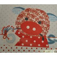Franck & Fischer Organic Cotton Quality Baby Childs Bed Linen Set Leona Pig
