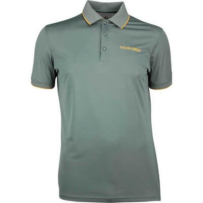 Galvin Green Golf Shirt MARTY Tour Iron Grey SS18