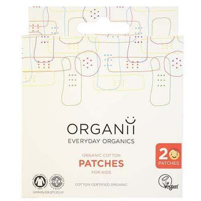 Organii Coloured Cotton Patches for Kids 20 Pieces