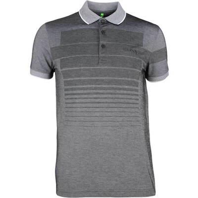 Hugo Boss Golf Shirt Paddy Pro 1 Black Heather PF18