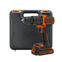 Image of Black & Decker BCD700S1K 18V Lithium-ion 2 Gear Hammer Drill with Kit Box